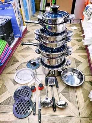 Electric sufuria/stainless steel induction sufuria/25pc cookware