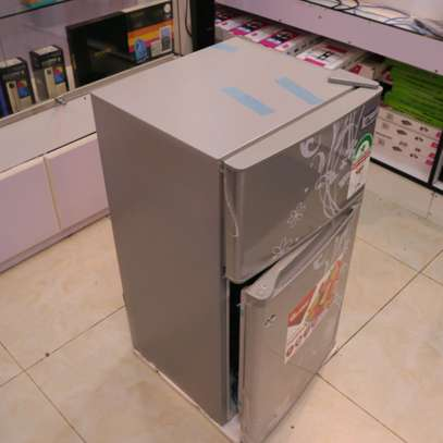 90 LITRES DOUBLE DOOR DIRECT COOL FRIDGE, SILVER- RF/222 image 2