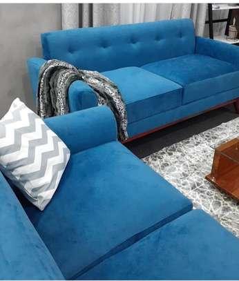 A Back Permanent Sofa image 1
