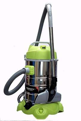 Prescott Wet and Dry Vacuum Cleaner (30 litres, Silver)
