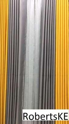 decorous stylish plain curtains image 3