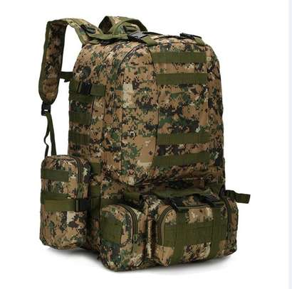 Military Bag 55L-Tactical Bag/Trekking/hiking/camping/Traveling bag image 10