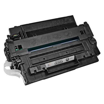 HP 55A Black Original LaserJet Toner Cartridge (CE255A) image 3