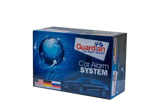 Guardian Car Alarm Security System with Imobilizer(Cut-Out) + Installation/Fitting