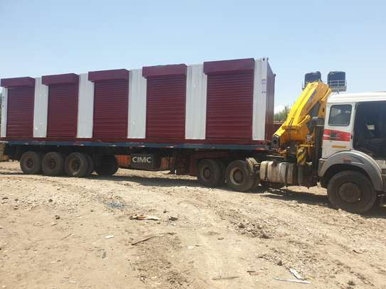Container transport and crane trucks for hire image 7