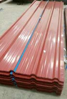 Box profile iron sheets