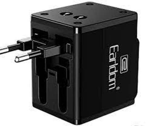 EARLDOM ES-LC10 GLOBAL UNIVERSAL CHARGER WITH DUAL USB PORTS image 1