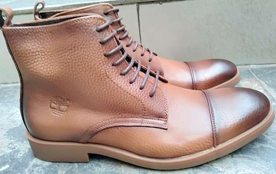 Brown Mens Boots image 2