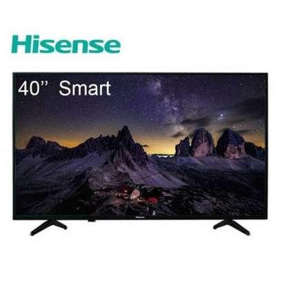 "hisense 40"" smart frameless A6 TV image 1"