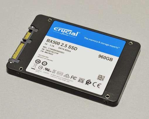 Crucial BX500 960GB SATA3  2.5 inch Internal SSD image 2