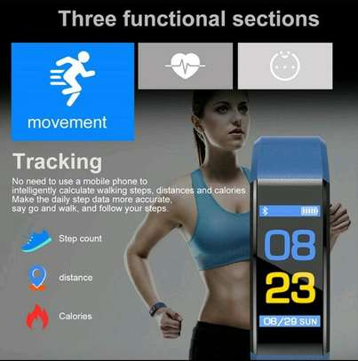 Smart band fitness tracker image 3