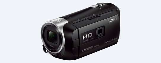 Sony HDR-PJ410 Full HD Camcorder with Built-In Projector (30x Optical Zoom, Optical SteadyShot, Wi-Fi and NFC) image 1