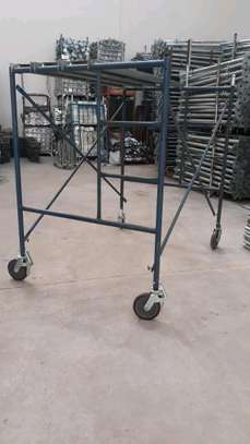 Scaffolding frame ladder for hire both weekly and monthly.