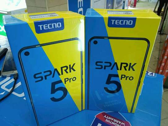 Tecno Spark 5 pro new 64gb 3gb ram 5000mah big battery image 1