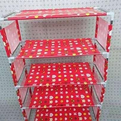 Shoe rack(Red) image 1