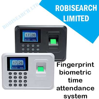 Biometric System With Fingerprint Technology + Software image 1