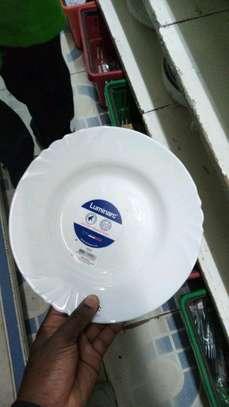 Luminar plates/6pc luminar plate/Dinner plate/Flowered plate image 7