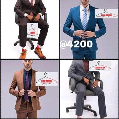 Slim fits men suits image 3