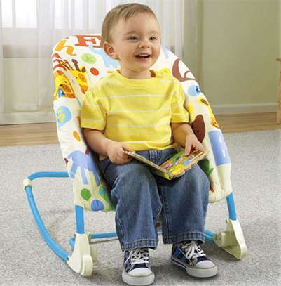 New generation 2in1 deluxe Infant-to-Toddler Rocker image 2
