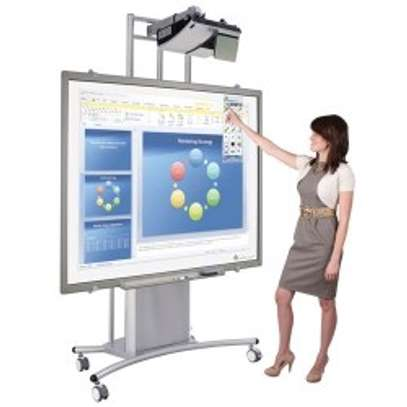 "INTERACTIVE WHITE BOARDS 77"" image 2"