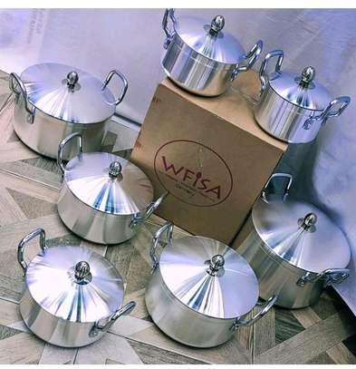 Aluminum cookware set image 1