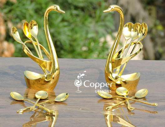 Duck spoon holder image 1