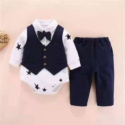 3pc Baby Boy Outfit