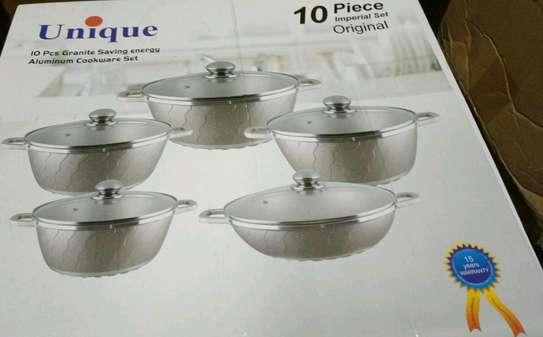 Unique granite cooking pot image 4