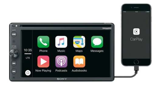 "Sony 16.3cm (6.4"") Car DVD Receiver with BLUETOOTH®-XAV-AX200 image 1"
