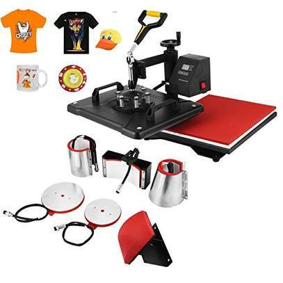 8 in 1 Combo Heat Press Machine image 2