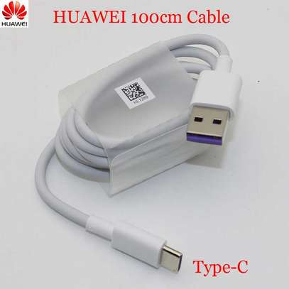 Original Huawei Supercharge USB 3.1 Type C Cable 5A Super Charging Data Cord image 3