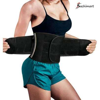 Fashion Women Neoprene Sauna Sweat Belt Waist Trainer Corset Slimming Body Shaper For Weight Loss Workout