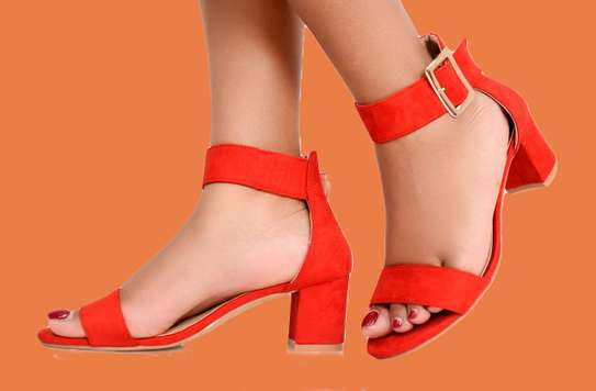 Orange Classic Basic Pump Official Shoes For Women image 1