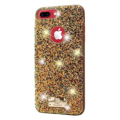 Puloka Glittering Luxurious Cases for iPhone 8,iPhone 8 plus image 2