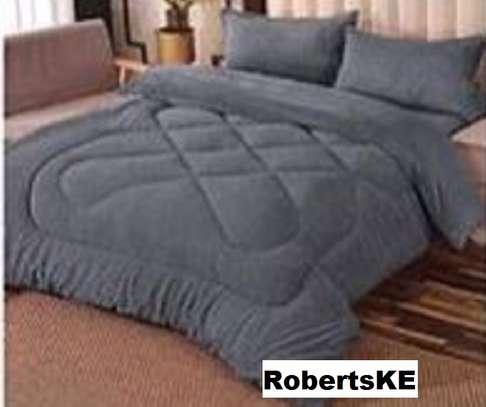 warm woolen duvet grey image 1