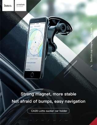 Hoco CA28 Premium Suction Magnetic Dashboard Phone Holder image 6