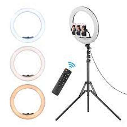 21-Inch LED Ring Light Dimmable Video Studio Photography Lighting For DSLR Youtube Live Streaming Photo With Tripod image 1