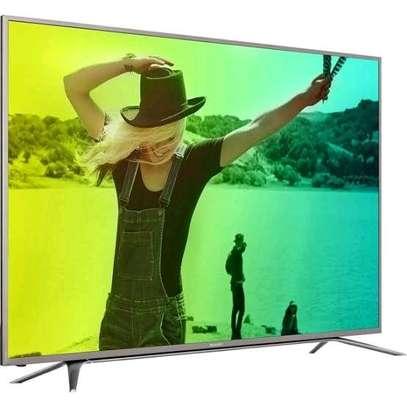 Vision Plus VP8850K 50 Inch Frameless 4K UHD Smart Android TV - Black image 1