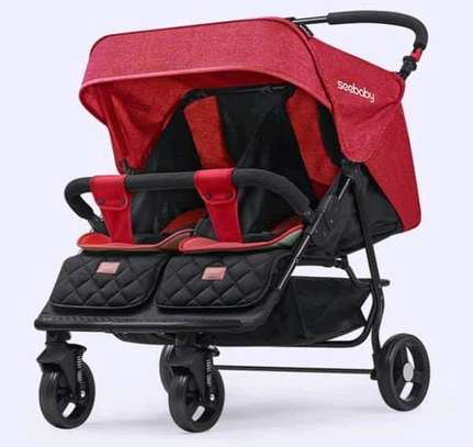Twin Stroller image 2