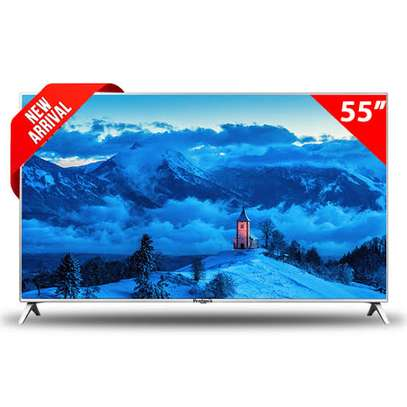 Skyworth 55 inches Android Smart UHD-4K Digital TVs image 1