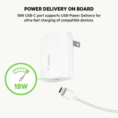 Belkin BOOST↑CHARGE USB-C Wall Charger 18W image 4