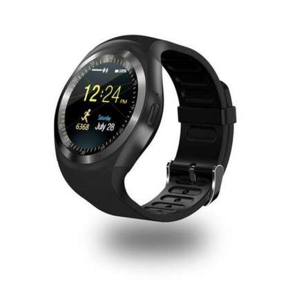 Children Adult Smart Watch Bluetooth GSM Phone SIM TF Card For IOS Android Y1 image 1