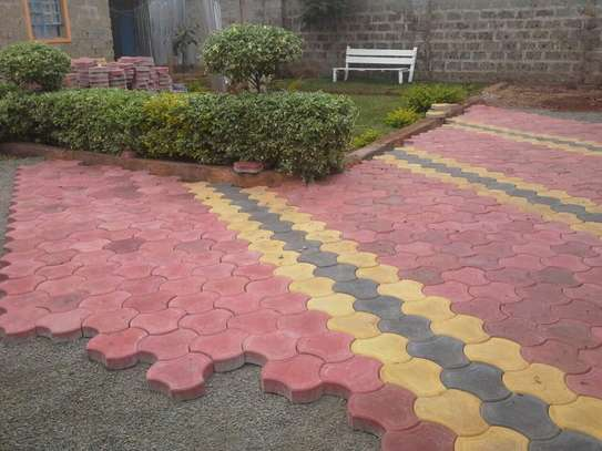 Cabro Blocks and Concrete Paving Tiles image 6