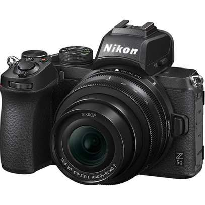 Nikon Z 50 Mirrorless Digital Camera with 16-50mm Lens image 1