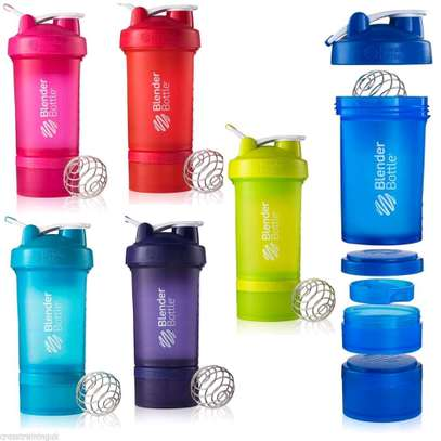 Smoothy plastic cup protein shaker image 1