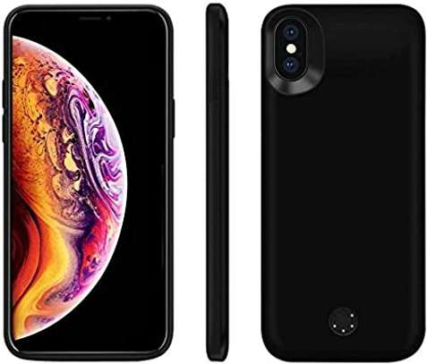 PowerCase 6000mAh Battery Charger Case For iPhone XS Max External Power Bank Charging Cover image 1