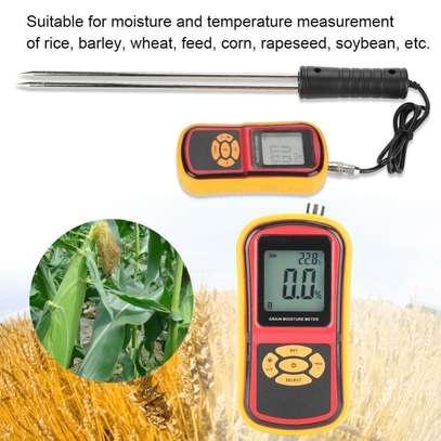 GM640 Portable Digital Backlit Grain Moisture Meter for Multiple Grains image 5