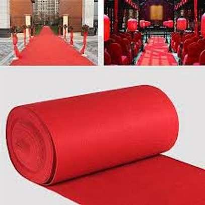 ELEGANT RED VIP CARPETS HIGH DENSITY image 3