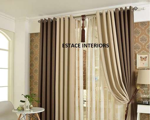 CURTAINS AND SHEERS MATCHED