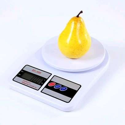 Digital kitchen weighing scale + 2 batteries image 2